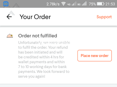 Foodpanda - Food panda put me in a humiliating position