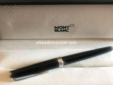 Jomashop Montblanc Rollerball Pen review 318204