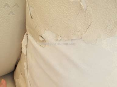 "Shame on Ashley Furniture! DuraBllend"" sofa and loveseat PEELING"