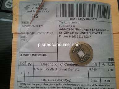 Dhgate Shipping Service review 323206