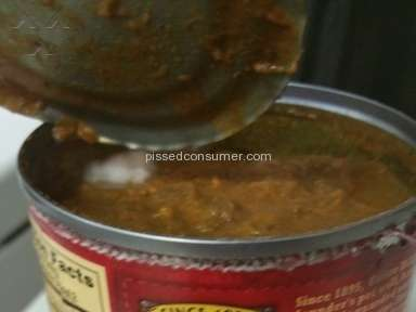 Wolf Brand Chili No Beans Review from Spring, Texas