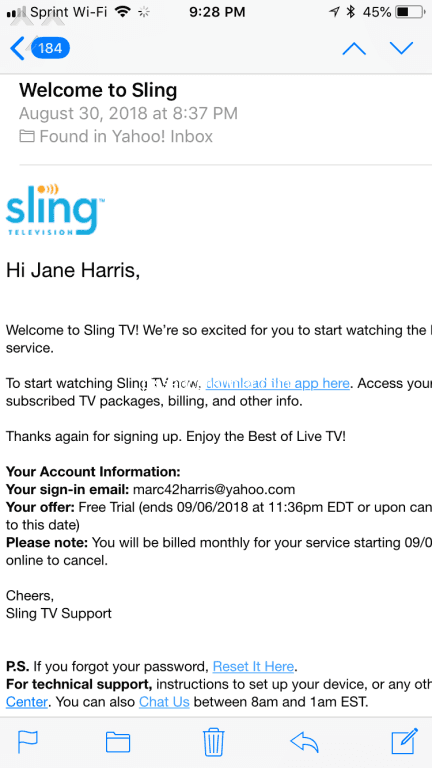 94 Sling Tv Streaming Service Free Trial Reviews and