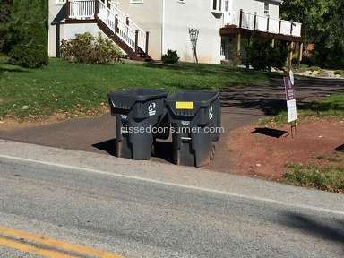 Advanced disposal continually blocks my driveway!