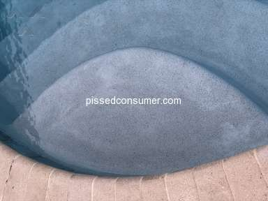 Pools Blue Haven - Defective horrible pool plaster