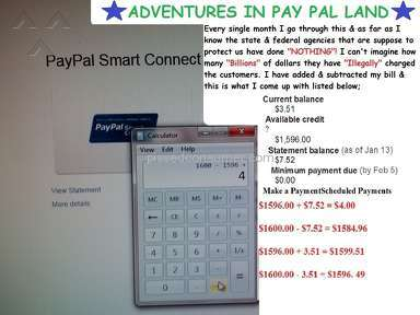 ADVENTURES IN PAY PAL LAND SYNCHRONY BANK GE CAPITAL RETAIL BANK CONTINUE TO PUT THE SCREWS TO ITS CUSTOMERS
