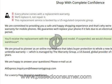 Aliexpress Electronics Claim review 214478