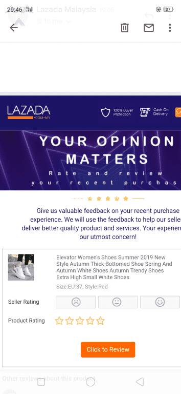 2663 Lazada Malaysia Complaints and Reports Page 2