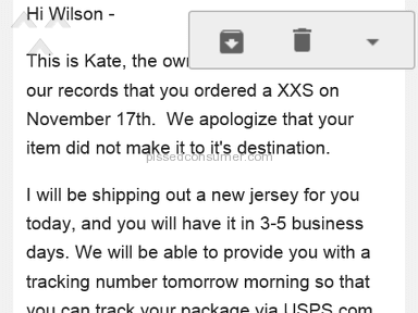Shopify Straight Outta Love Shipping Service review 190124