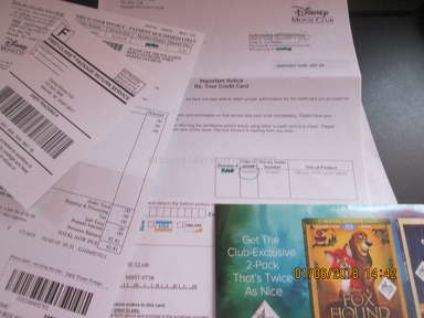 Disney Movie Club - Cancelled Membership 4 times! Still getting member mailings!