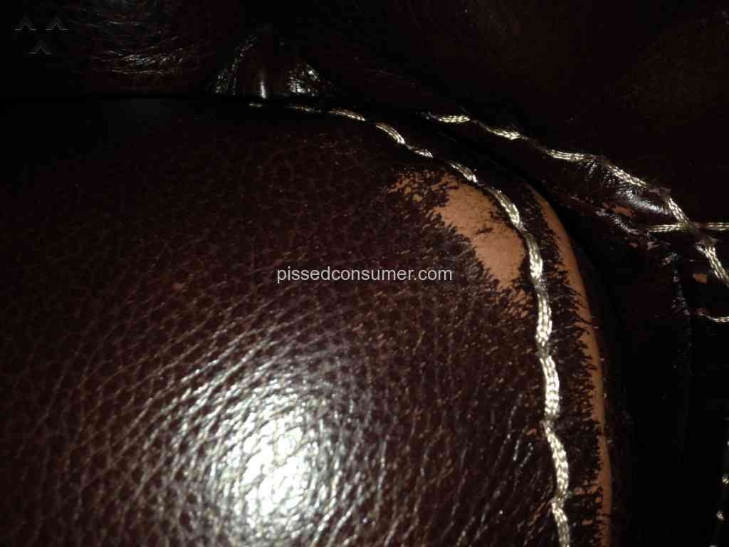 Sofa Mart Cloud Leather Sofa Review from Ransom, Illinois