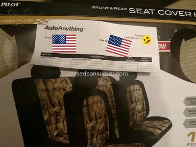 AutoAnything Proz Car Seat Cover review 152990