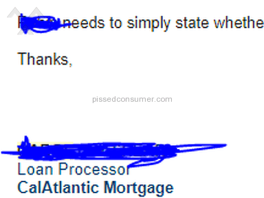 CalAtlantic Mortgage Inc