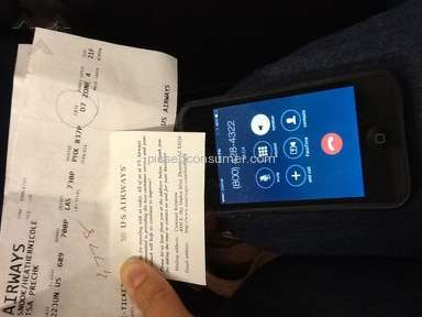 "Us Airways - Worst flight and ""customer service"" ever"