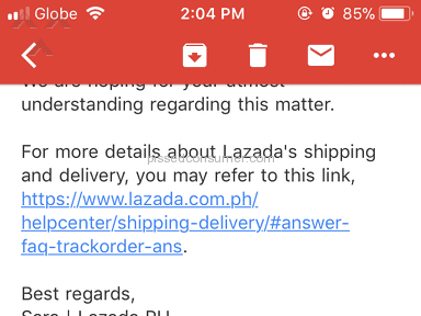 Lazada Philippines E-commerce review 252536
