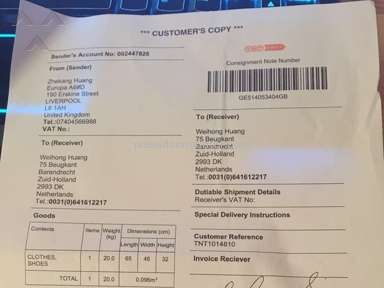 Tnt Express Transportation and Logistics review 82097