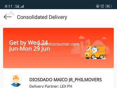 Lazada Philippines Lazada Express Delivery Service review 644609