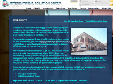 International Solution Group Japan Real Estate Investment Service review 216496
