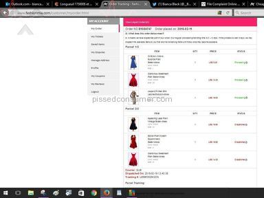 Fashionmia Customer Care review 127987