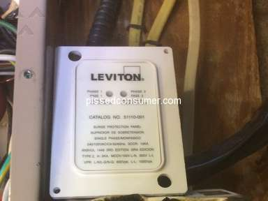 Leviton Does Not Honor Their Surge Protector Warranties Like Stated.
