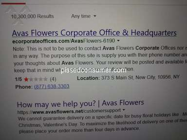 Avasflowers Flowers review 389644