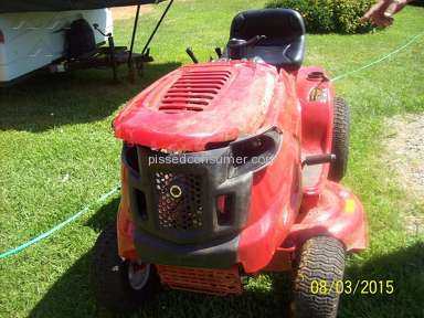 Our son was nearly killed when brakes failed on troy bilt pony mower