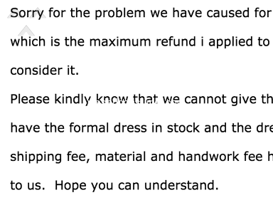 Ericdress - Poor quality, poor customer service