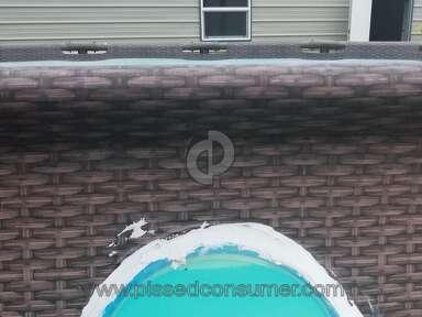 Coleman - Bestway pool with windows leaks