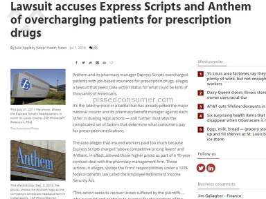 "Express Scripts - Icing on the cake after getting laid off, incompetent, INSOLENT, and sad to say, benighted ""customer service"" agents."