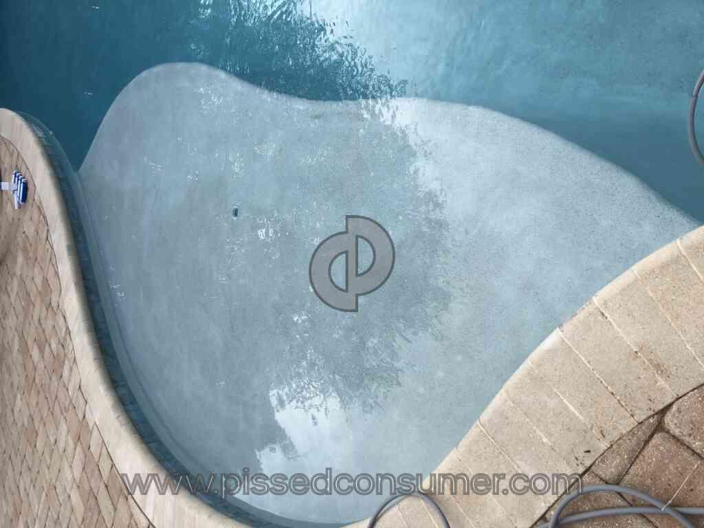 Blue Haven Pools Defective Horrible Pool Plaster