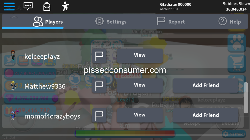 2597 Roblox Account Reviews And Complaints Page 28 Pissed Consumer