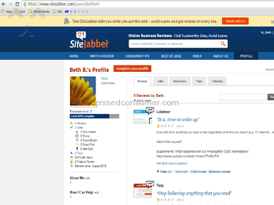 Sitejabber - Another fraud and scam, please beware yourself.