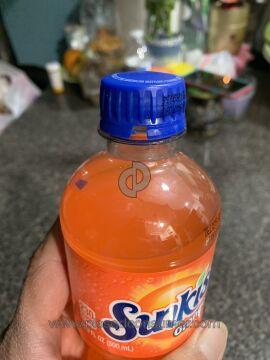 Sunkist Soda Bottle