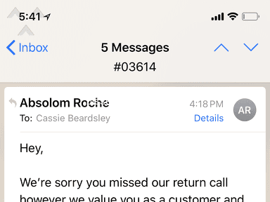 Absolom Roche - HORRIBLE customer service! Waste of time!!