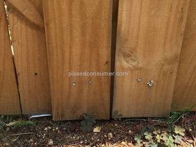 Lowes Fence Installation review 236570