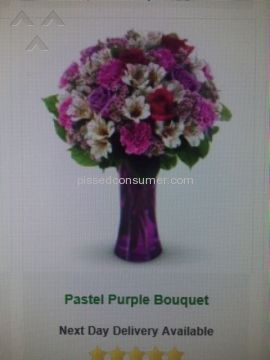 Avasflowers Pastel Purple Bouquet