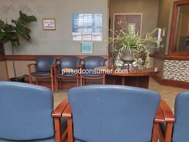 Fresenius - Poorly Ran Facility, Waiting area Filthy.