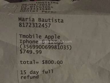 Progressive Leasing   Progressive Financial   Iphone 6 Review From Dallas,  Texas