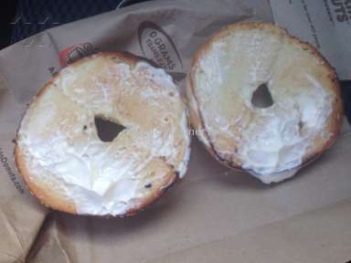 Dunkin Donuts - Bagel Review from Albany, New York