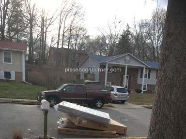Ashley Furniture - Delivery driver threw mattress in street / do not shop here!