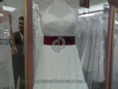Davids Bridal Dress review 3345