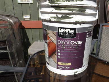 Behr Deckover Deck Paint review 134555