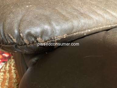 Lazboy - Very Disappointed Customer of Sectional