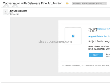 Delaware Fine Art Auction Shipping Service review 225404