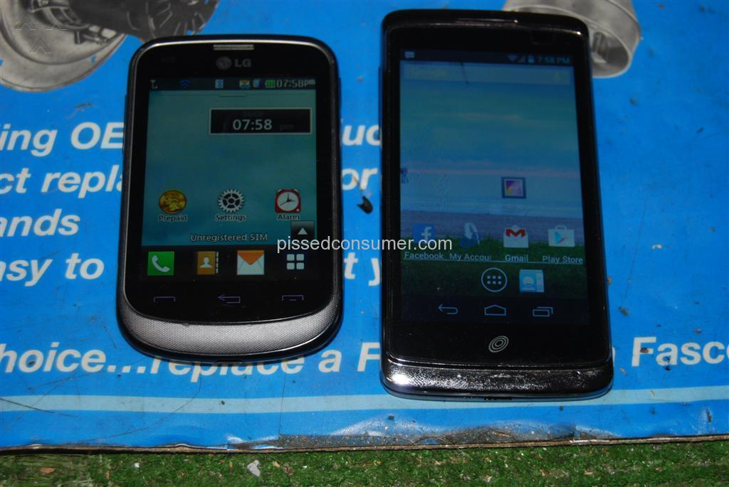 TracFone - Unhappy with new phone battery life un-acceptable
