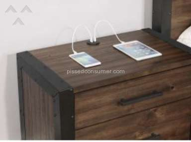 Coaster Furniture - Low quality furniture. Over priced