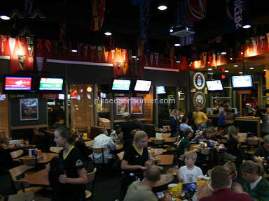 Buffalo Wild Wings - Buffalo's Wild Wings - Toms River, NJ - tables too small !!! and service is!!!