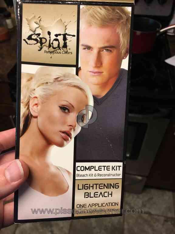 6 Splat Hair Color Lightening Bleach Hair Dye Reviews And Complaints