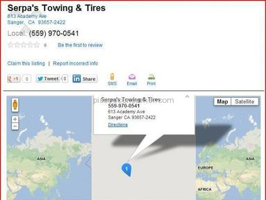 SERPA TOWING Service Centers and Repairs review 8863