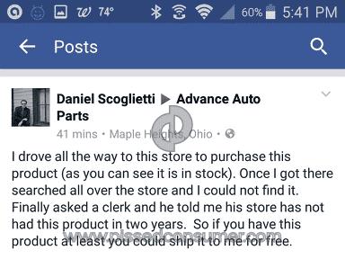 Advance Auto Parts - Simple Review #1472766496