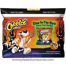Cheetos Glow-in-the-dark Trick Or Treat Puffs